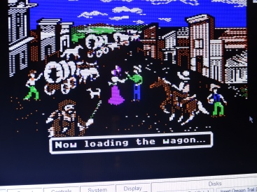 Taught him how to play Oregon Trail.